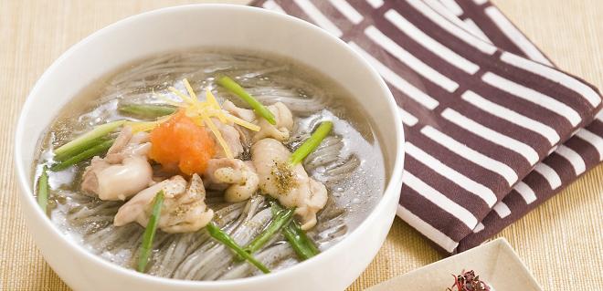 黒胡麻めんの煮麺